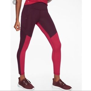 NWOT Athleta 7/8 leggings.